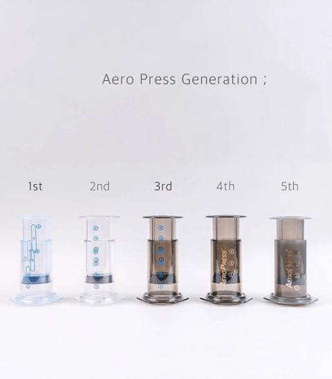 aeropress iterations