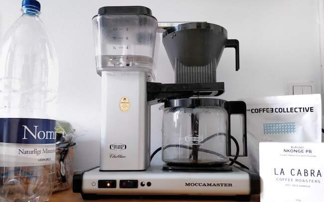 moccamaster scaa certified coffee maker