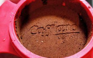 cafflano kompresso portafliter close up