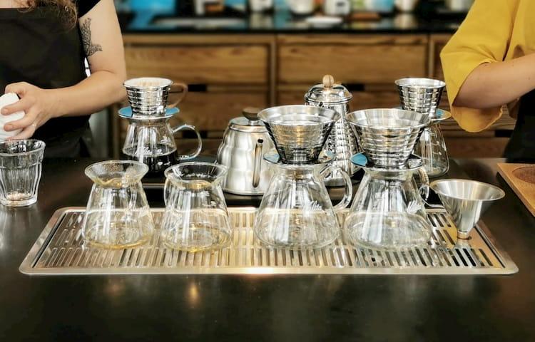 Kalita pourover coffee filter