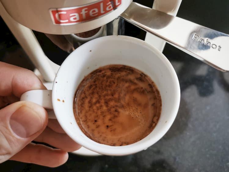 espresso shot robot
