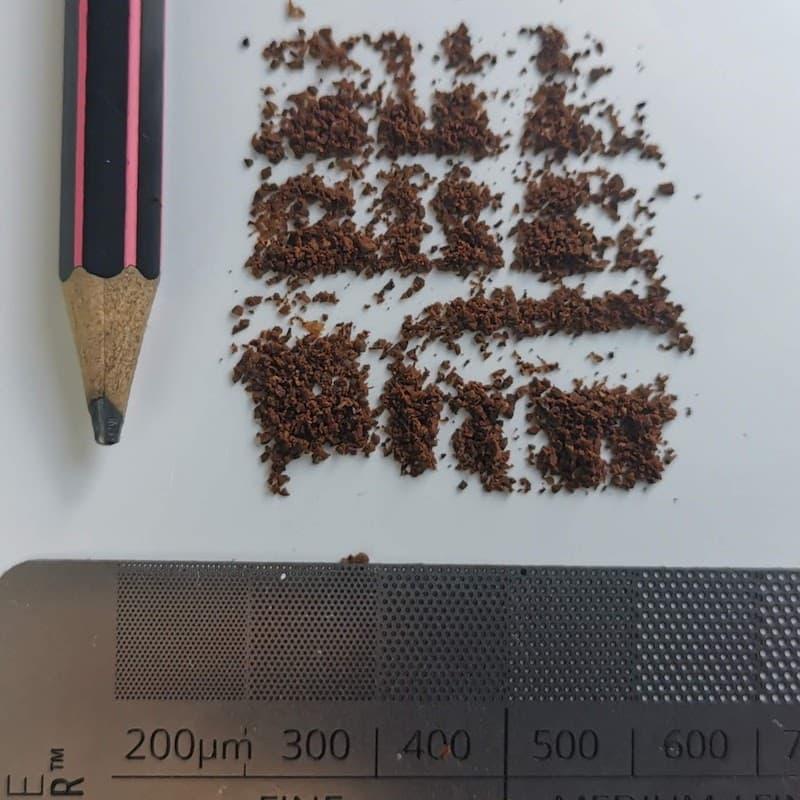 grind size espresso