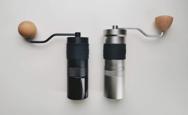 1zpresso jx on the left and jx pro on the right