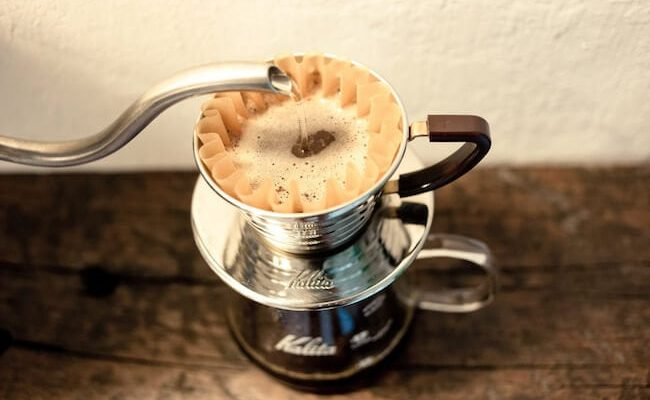 Pour over coffee maker from the brand Kalita