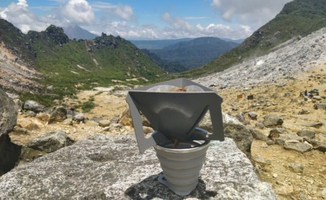 tetra drip coffee maker camping